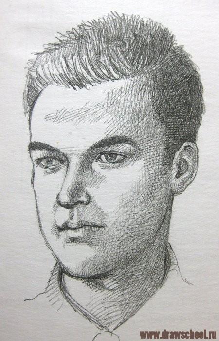 как научиться рисовать портрет человека: