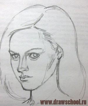 рисунки карандашом голова животных